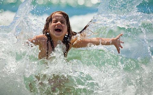 Простуда летом после купания