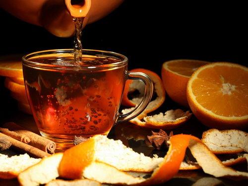 Рецепт цитрусового чая